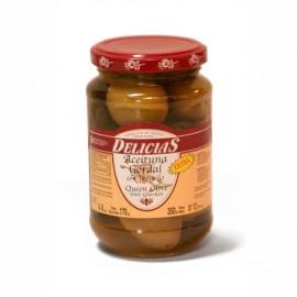 Aceituna gordal con pepinillo Agrucapers 350g.