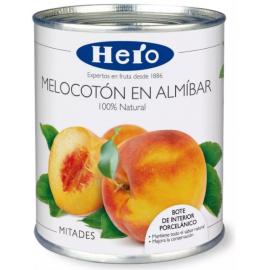 Melocotón en Almíbar Hero 420g.