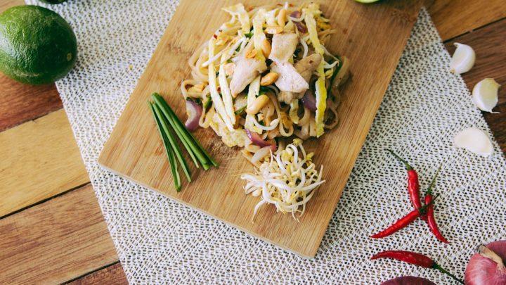 Pasta asiática una alternativa rápida de comida sana