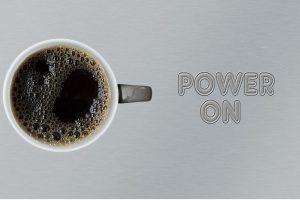 Magia de cafeína, bebidas energéticas