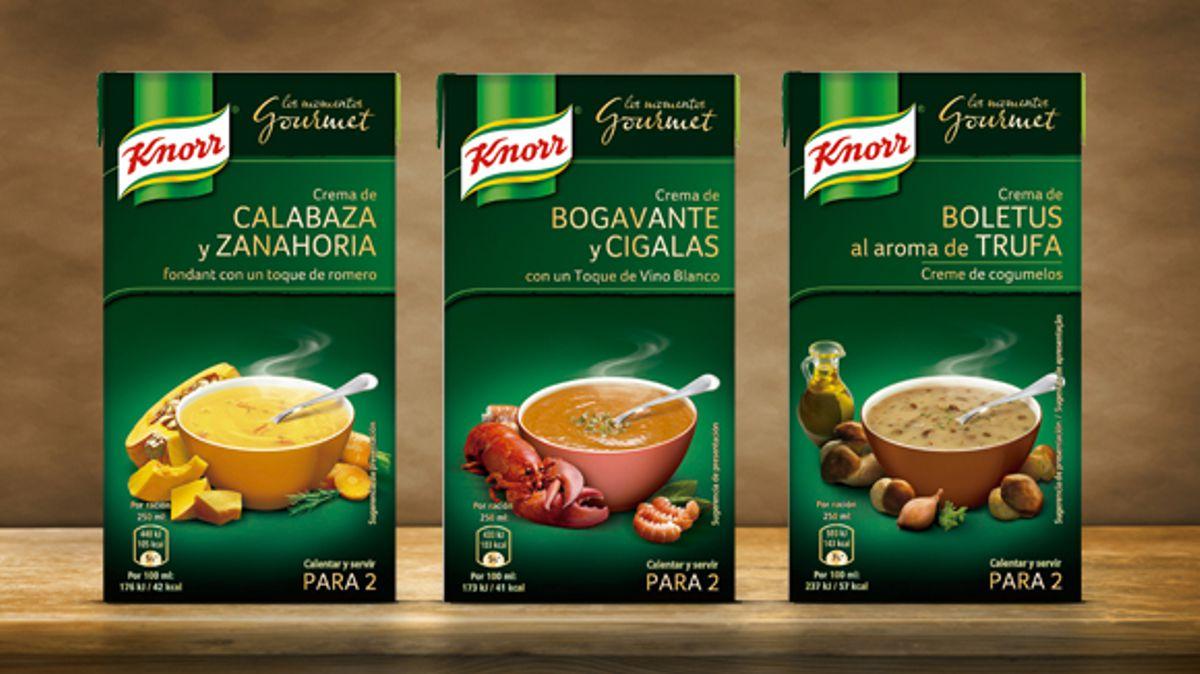 Cremas Gourmet Knorr