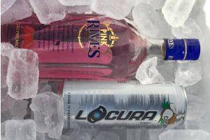 Pink Rives con Locura Coco en Gastrocanarias de Domingo Gutiérrez