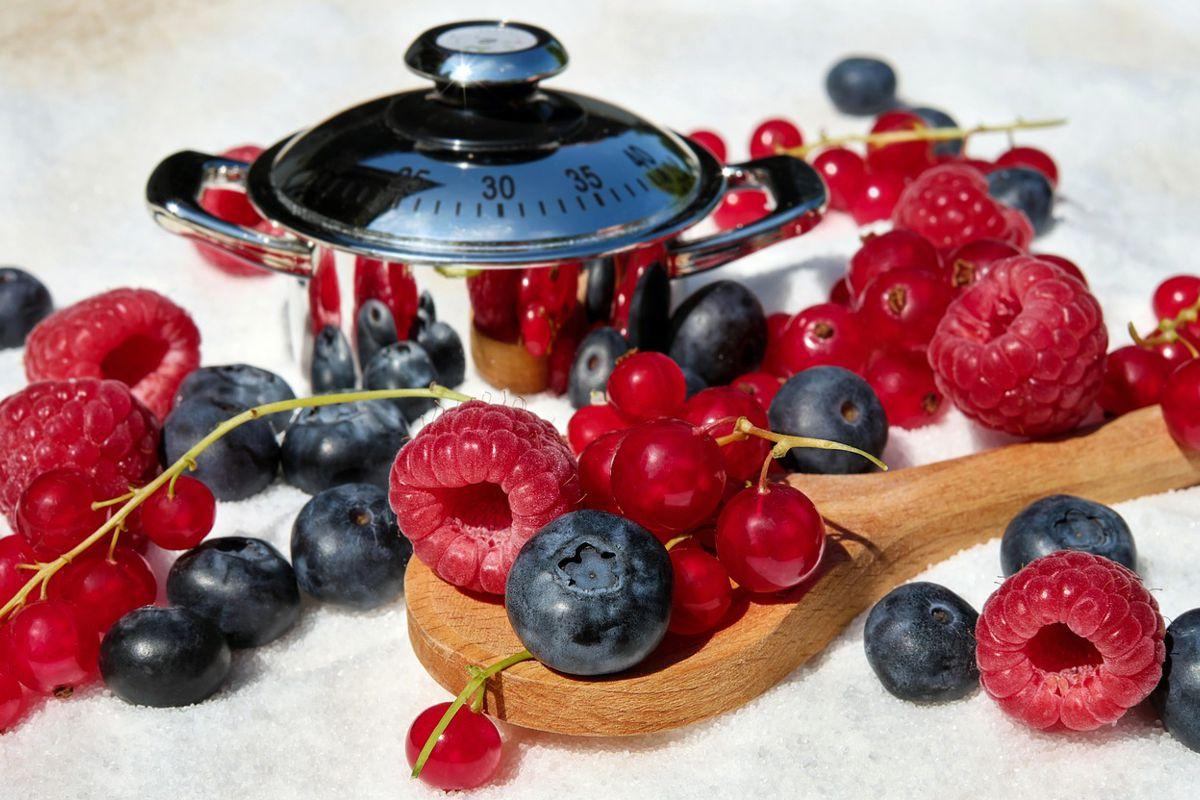 confituras y mermeladas frutos rojos