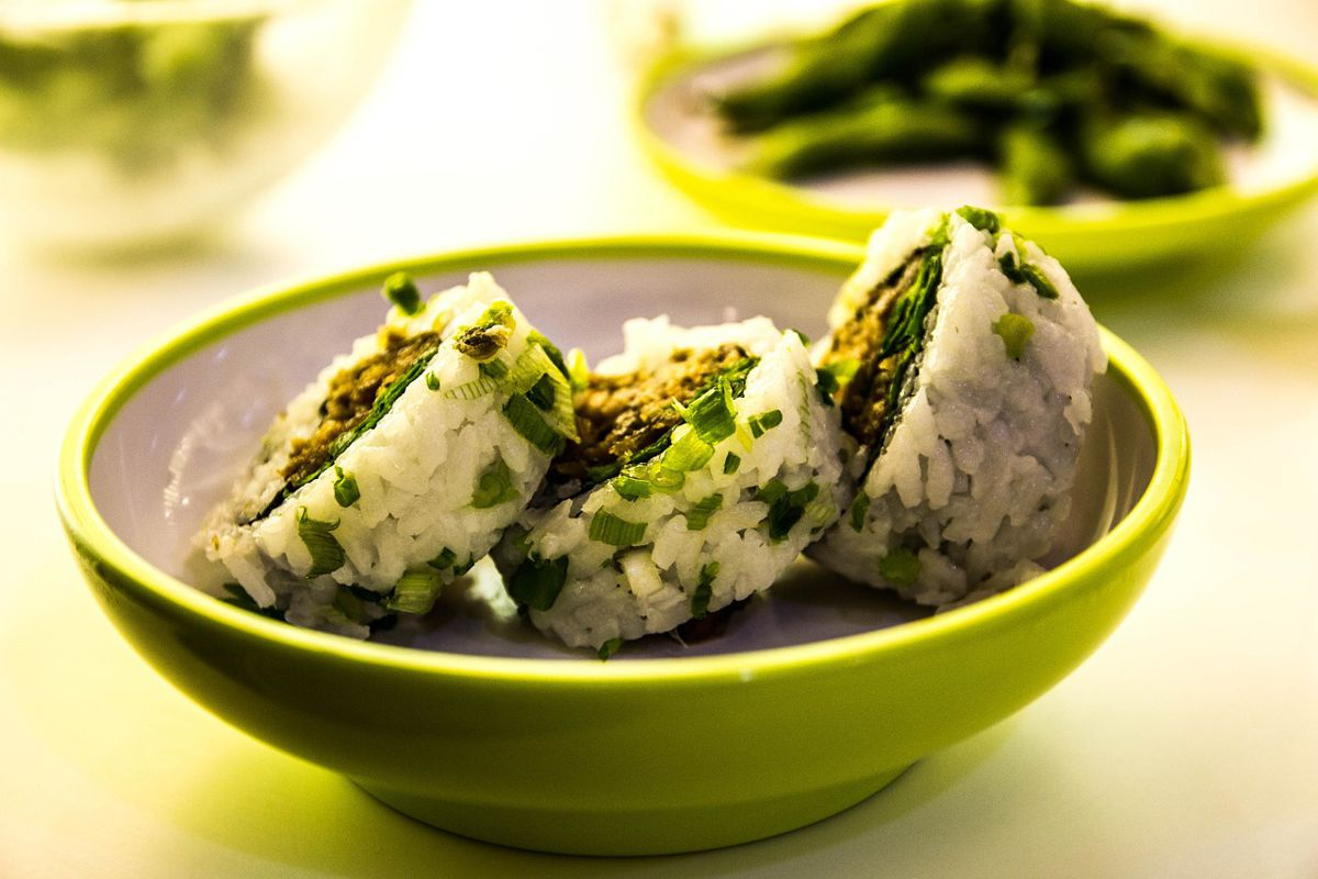 sushi arroz