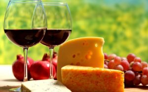 Maridaje Queso Vino