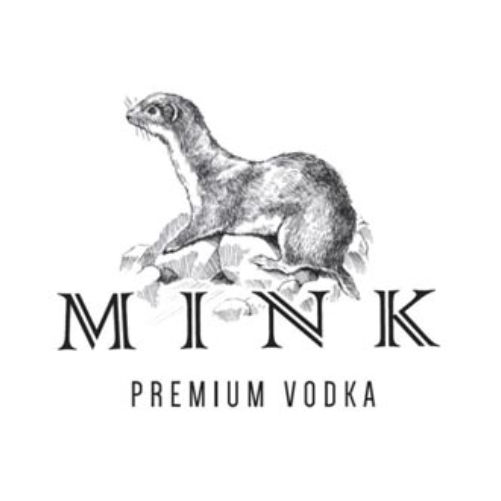 logotipo vodka mink