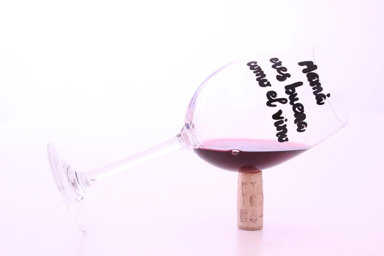 Copa vino Día de la Madre