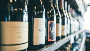 El etiquetado en las botellas de vino