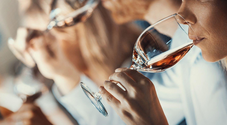 La sala de cata de vino