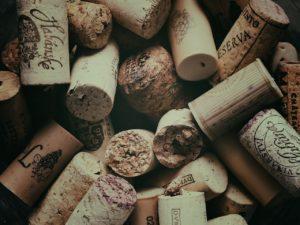 tipos de corcho de vinos