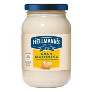 gama de productos Hellmann's logo