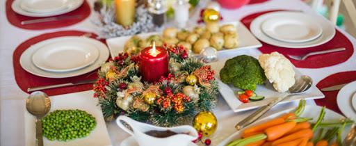 menú de Navidad saludable