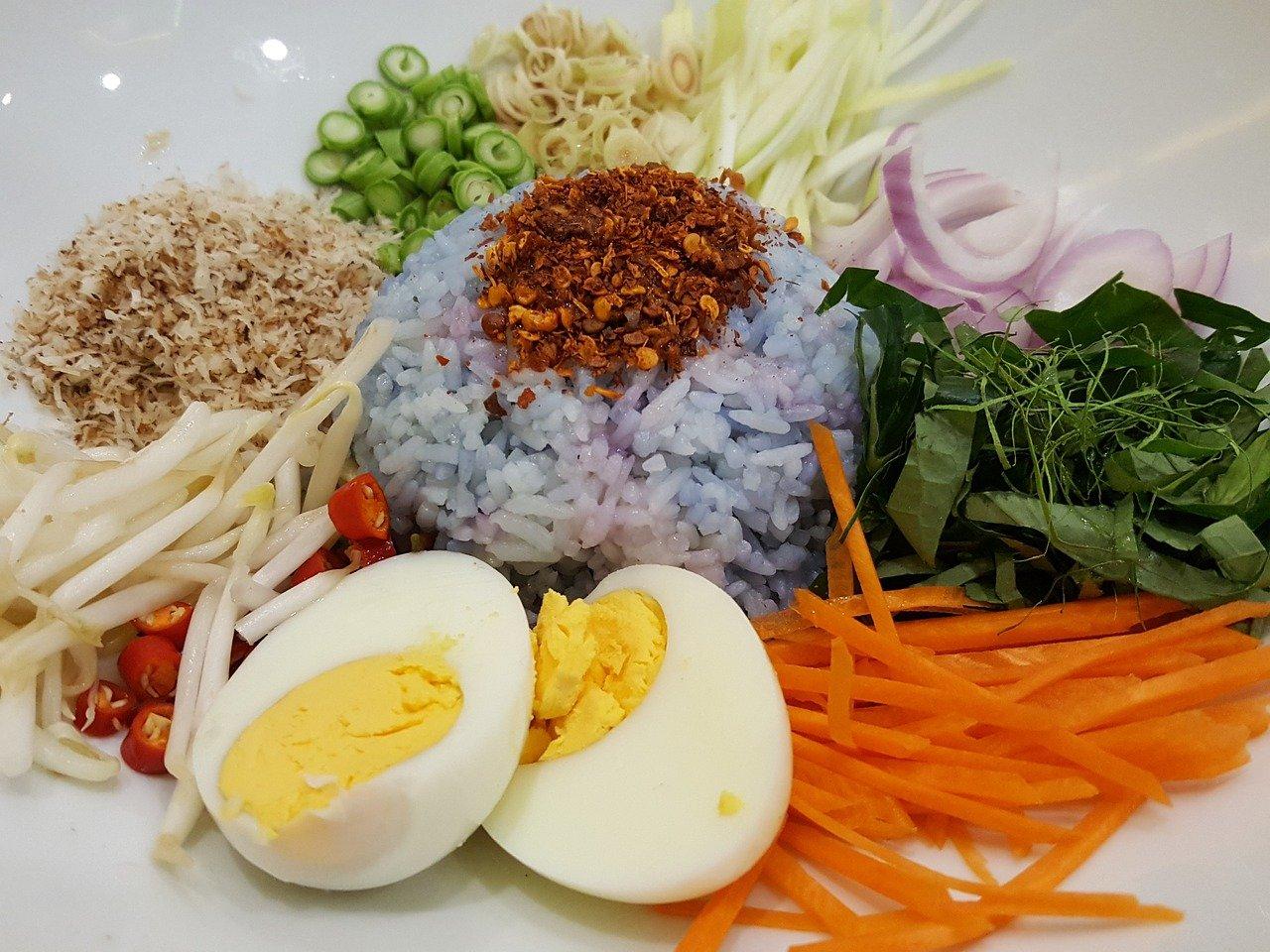 Ensaladas de arroz para el verano